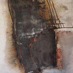 Abstrakte Malerei Bild 105 Keilrahmen 120x80x3,5cm