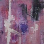 Abstrakte Malerei Bild 112 Keilrahmen 100x80x3,5cm