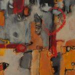 Abstrakte Malerei Bild 118 Keilrahmen 100x80x3,5cm