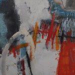 Abstrakte Malerei Bild 133 Keilrahmen 80x80x3,5cm