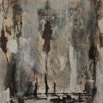 Abstrakte Malerei Bild 137 Keilrahmen 100x100x3,5cm