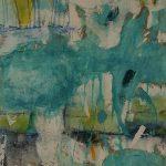 Abstrakte Malerei Bild 13 Keilrahmen 80x60x1,8cm