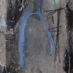Abstrakte Malerei Bild 148 Keilrahmen 120x40x3,5cm