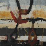 Abstrakte Malerei Bild 156 Keilrahmen 120x100x3,5cm