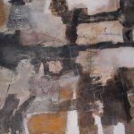 Abstrakte Malerei Bild 18 Keilrahmen 80x100x3,5cm