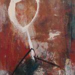Abstrakte Malerei Bild 188 Keilrahmen 70x50x1,8cm