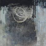 Abstrakte Malerei Bild 216 Keilrahmen 40x40x1,8cm