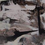 Abstrakte Malerei Bild 243 Keilrahmen 150x120x3,5cmn