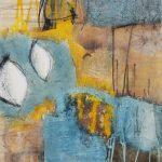 Abstrakte Malerei Bild 297 Keilrahmen 50x40x1,8cm