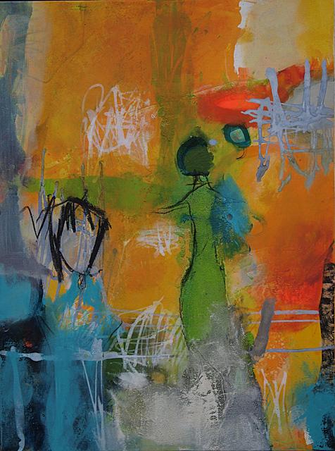 Abstrakte Malerei Bild 298