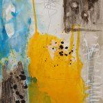 Abstrakte Malerei Bild 301 Keilrahmen 70x50x1,8cm