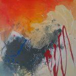 Abstrakte Malerei Bild 311 Keilrahmen 50x50x1,8cm