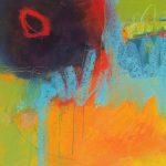 Abstrakte Malerei Bild 312 Keilrahmen 50x50x1,8cm