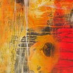 Abstrakte Malerei Bild 314 Keilrahmen 130x90x4cm