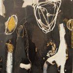 Abstrakte Malerei Bild 5 Keilrahmen 50x50x1,8cm