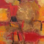 Abstrakte Malerei Bild 71 Keilrahmen 80x60x1,8cm