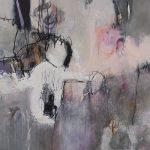 Abstrakte Malerei Bild 87 Keilrahmen 80x80x1,8cm