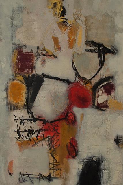 Abstrakte Malerei Bild 127 KR 90x60x3,5cm