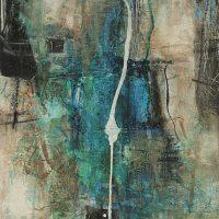Abstrakte Malerei - Bild 132 - Keilrahmen 60x50x3,5cm