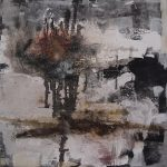 Abstrakte Malerei - Bild 166 - Keilrahmen 100x100x4cm