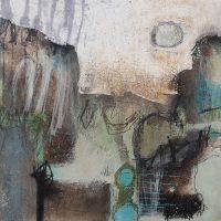 Abstrakte Malerei - Bild 200 - Keilrahmen 60x60x2cm