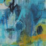 Abstrakte Malerei - Bild 214 - Keilrahmen 70x50x2cm