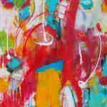 Abstrakte Malerei - Bild 224 - Keilrahmen 60x60x2cm
