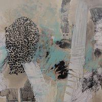 Abstrakte Malerei - Bild 238 - Keilrahmen 50x60x4cm + Acrylglas
