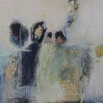 Abstrakte Malerei - Bild 259 - Keilrahmen 40x40x3cm