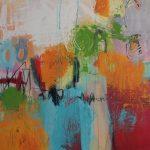 Abstrakte Malerei - Bild 265 - Keilrahmen 70x70x2cm