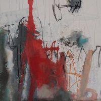 Abstrakte Malerei - Bild 266 - Keilrahmen 90x90x2cm