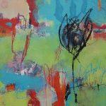 Abstrakte Malerei - Bild 275 - Keilrahmen 50x50x3cm