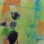 Abstrakte Malerei - Bild 276 - Keilrahmen 50x50x3cm
