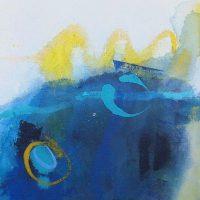 Abstrakte Malerei - Bild 281 - Keilrahmen 30x30x3cm