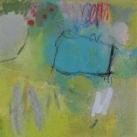 Abstrakte Malerei - Bild 293 - Keilrahmen 30x30x3cm
