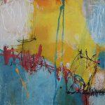 Abstrakte Malerei - Bild 296 - Keilrahmen 70x50x1,8cm