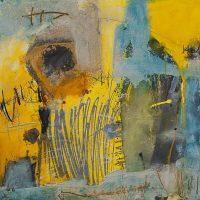 Abstrakte Malerei - Bild 299 - Keilrahmen 80x80x4cm