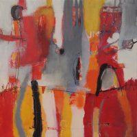 Abstrakte Malerei - Bild 36 - Keilrahmen 50x50x1,8cm