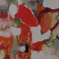 Abstrakte Malerei - Bild 48 - Keilrahmen 70x50x1,8cm