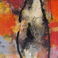 Abstrakte Malerei - Bild 126 - Keilrahmen 80x40x3,5cm