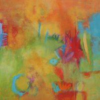 Abstrakte Malerei - Bild 139 - Keilrahmen 100x100x3,5cm