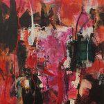 Abstrakte Malerei - Bild 154 - Keilrahmen 120x100x3,5cm