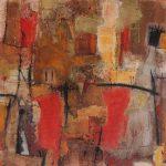 Abstrakte Malerei - Bild 165 - Keilrahmen 100x100x4cm