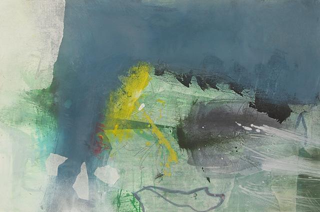 Abstrakte Malerei Bild 318 Keilrahmen 80x120x4cm
