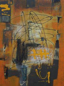 Abstrakte Malerei März 2014.