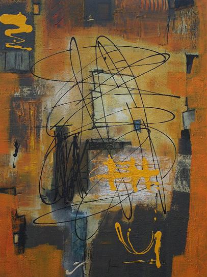 Abstrakte Malerei Bild 119