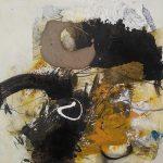 Abstrakte Malerei Bild 325 Keilrahmen 70x70x1,8cm