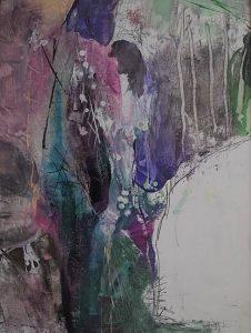 Abstrakte Malerei Bild E1