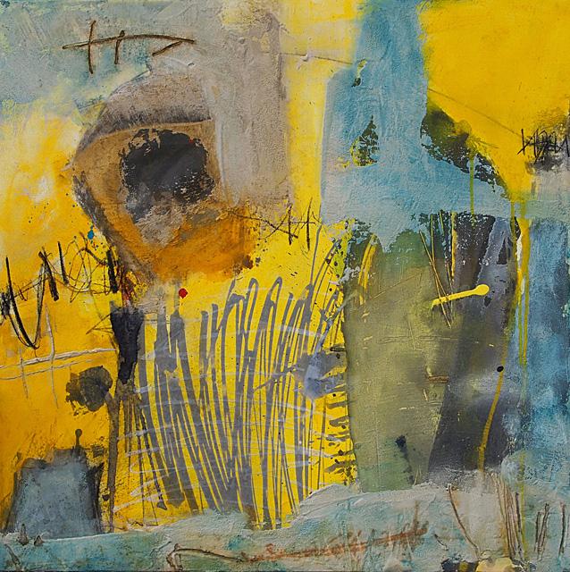 Abstrakte Malerei Kunst von Iris Rickart