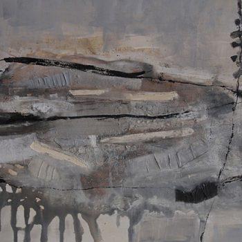 Abstrakte Malerei Bild 111 Keilrahmen 80x120x4,5cm